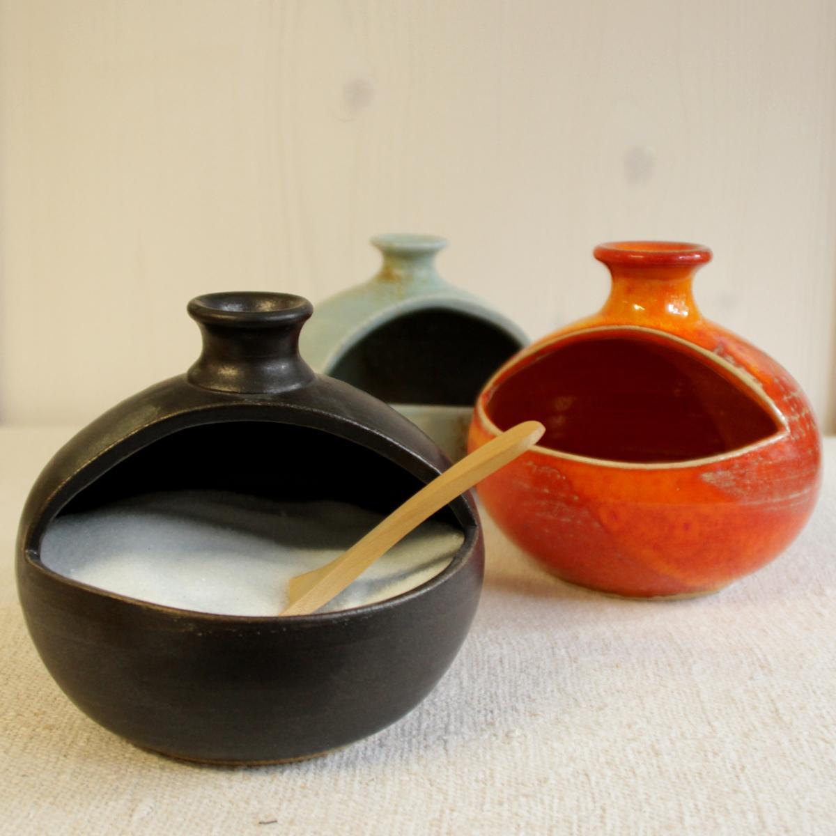 salzfass keramik weissensteiner. Black Bedroom Furniture Sets. Home Design Ideas